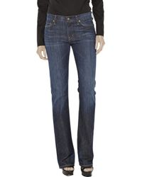 Citizens of Humanity - Blue Amber Mid-rise Bootcut Jeans - Lyst