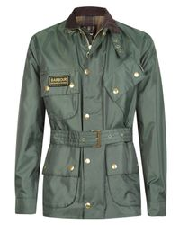 Barbour | Green International Nylon Jacket for Men | Lyst