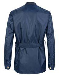 Barbour | Blue International Nylon Jacket for Men | Lyst