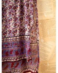 Free People - Multicolor Vintage Indian Gauze Dress - Lyst