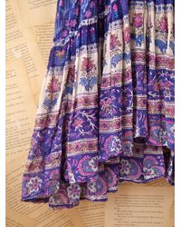 Free People | Multicolor Vintage Indian Gauze Dress | Lyst