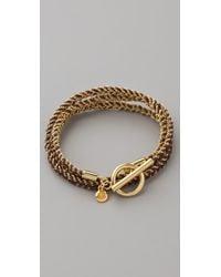 Gorjana | Brown Kingston Wrap Bracelet | Lyst