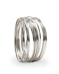 Mango | Metallic Touch - Bracelet Loops | Lyst