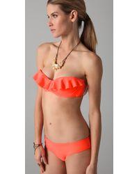 Mara Hoffman - Pink Ruffle Bikini - Lyst
