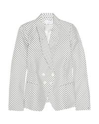 Paul & Joe | White Calva Polka-dot Twill Jacket | Lyst