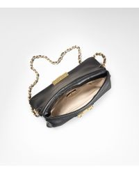 Tory Burch | Black Norah Flap Envelope Clutch | Lyst