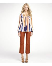 Tory Burch - Multicolor Lane Blouse - Lyst