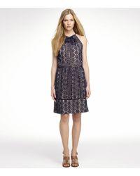 Tory Burch | Blue Noella Dress | Lyst