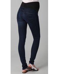 Citizens of Humanity | Blue Avedon Maternity Skinny Jeans | Lyst