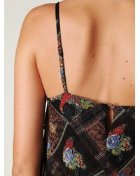 Free People | Black Dress In Gypsy Daisy Print | Lyst