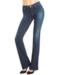 J Brand | Blue 818 Mid-rise Slim Boot Leg | Lyst