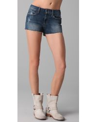 Joe's Jeans | Blue High Waist Cutoff Shorts | Lyst