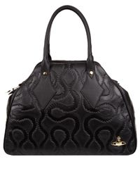 Vivienne Westwood | Black Squiggle Shoulder Bag | Lyst