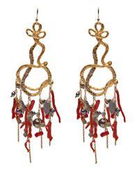 Alexis Bittar   Metallic Chandelier Earrings   Lyst