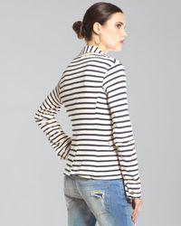 Splendid | Blue Striped Palm Desert Blazer | Lyst