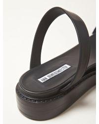Ann Demeulemeester - Black Womens Glove Sandals - Lyst