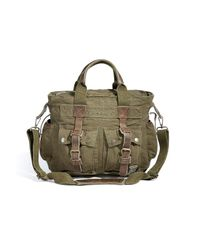 Belstaff | Natural Military Green Tote Bag 574 for Men | Lyst