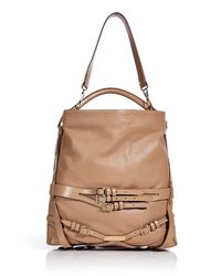 Burberry | Brown Soft Leather Bridle Medium Gosford Hobo Bag | Lyst