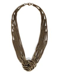 DANNIJO - Multicolor The Knox Brass Necklace - Lyst