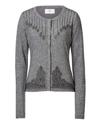 Day Birger et Mikkelsen - Gray Light Grey Mélange Day Ardour Cardigan - Lyst