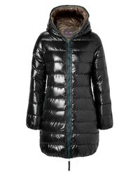 Duvetica | Black Hooded Padded Coat | Lyst