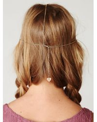 Free People | White Daisy Chain Headpiece | Lyst
