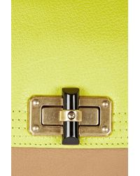 Lanvin - Green Happicolo Leather Shoulder Bag - Lyst