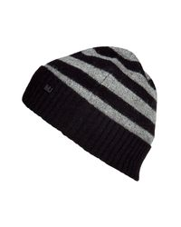 Marc By Marc Jacobs | Black Multi Stripe Beanie for Men | Lyst