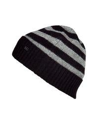 Marc By Marc Jacobs - Black Multi Stripe Beanie for Men - Lyst