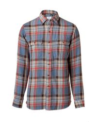Polo Ralph Lauren | Farrell Blue/red Twill Plaid Classic Fit Shirt for Men | Lyst