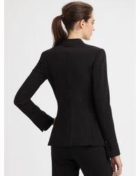 Dolce & Gabbana - Black Wool Turlington Jacket - Lyst