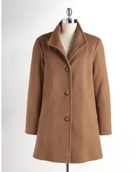 Fleurette - Brown Aline Wool Coat - Lyst