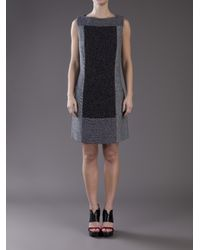 Proenza Schouler | Blue Baja Tweed A-line Dress | Lyst