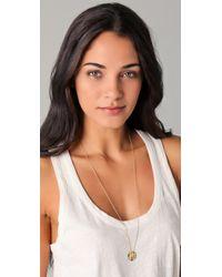 Gorjana - Metallic Chloe Shimmer Pendant Necklace - Lyst