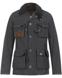 Barbour - Black Spey Fishing Jacket for Men - Lyst