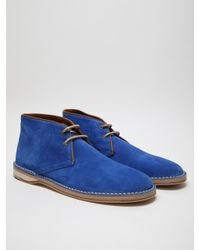 Acne | Blue Mens Desert Boot for Men | Lyst