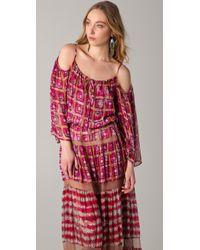 BCBGMAXAZRIA | Pink Dress The Valentina Maxi Dress | Lyst