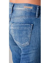Citizens of Humanity | Blue Dani Cropped Straight Leg Jeans | Lyst