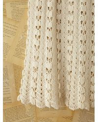 Free People | White Vintage Granny Knit Crochet | Lyst