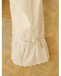 Free People | Natural Vintage Victorian Bloomers | Lyst