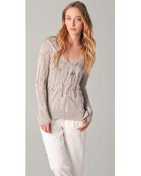 Kimberly Ovitz - Natural Porter Sweater - Lyst