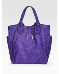 Marc By Marc Jacobs - Purple Pretty Nylon Medium Tate Tote Bag - Lyst