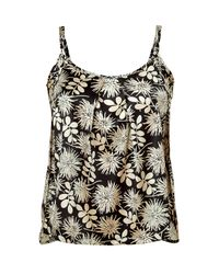 Stella McCartney | Black Ilda Driving Printed Stretchsilk Satin Camisole | Lyst