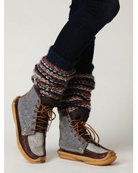 Free People - Gray Mendocino Hunt Boot - Lyst