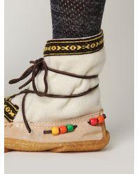 Free People - White Alaskan Cree Boot - Lyst