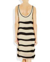 By Malene Birger | Black Kaija Silk-georgette Dress | Lyst
