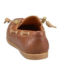 HUNTER - Brown Willemberg Boat Shoe - Lyst