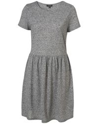 TOPSHOP | Gray Speckle T-shirt Dress | Lyst