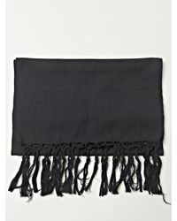 Ann Demeulemeester | Black Mens Tito Scarf for Men | Lyst
