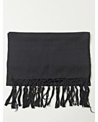 Ann Demeulemeester - Black Mens Tito Scarf for Men - Lyst